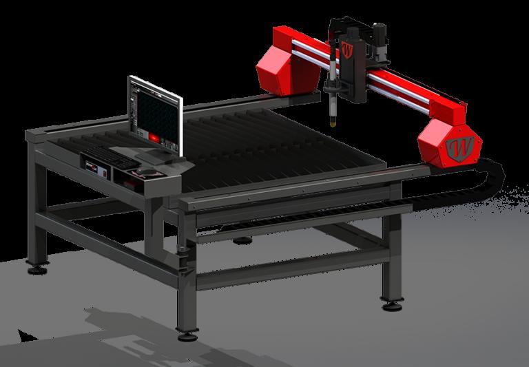 Titan Series 4x4 CNC Plasma Cutting Table by Westcott Plasma