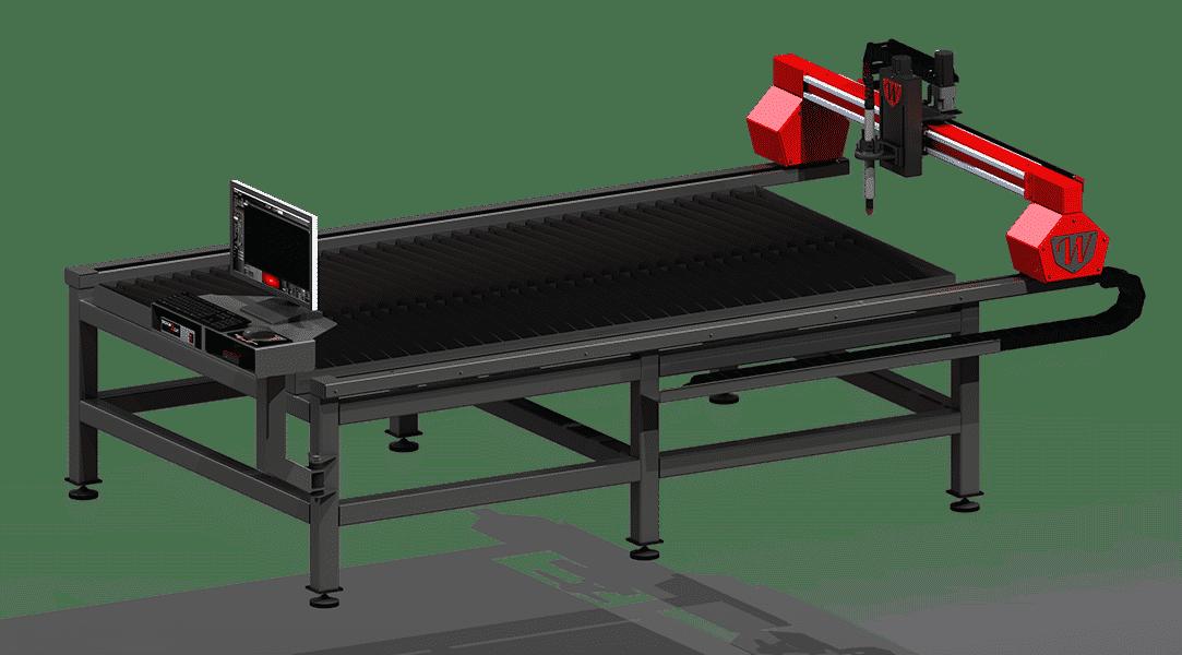 Titan Series 4x8 CNC Plasma Cutting Table by Westcott Plasma