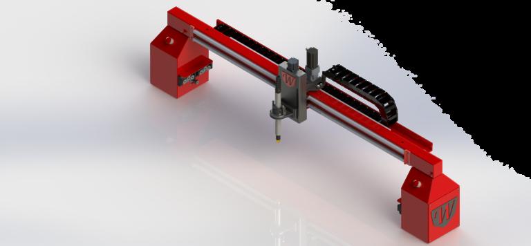 CNC Plasma Cutting Table Gantry by Westcott Plasma