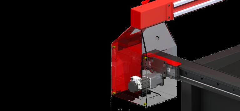 Zoomed CNC Plasma Cutting Table Gantry by Westcott Plasma